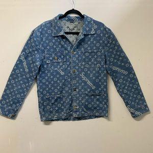 Supreme & Louis Vuitton Jean jacket